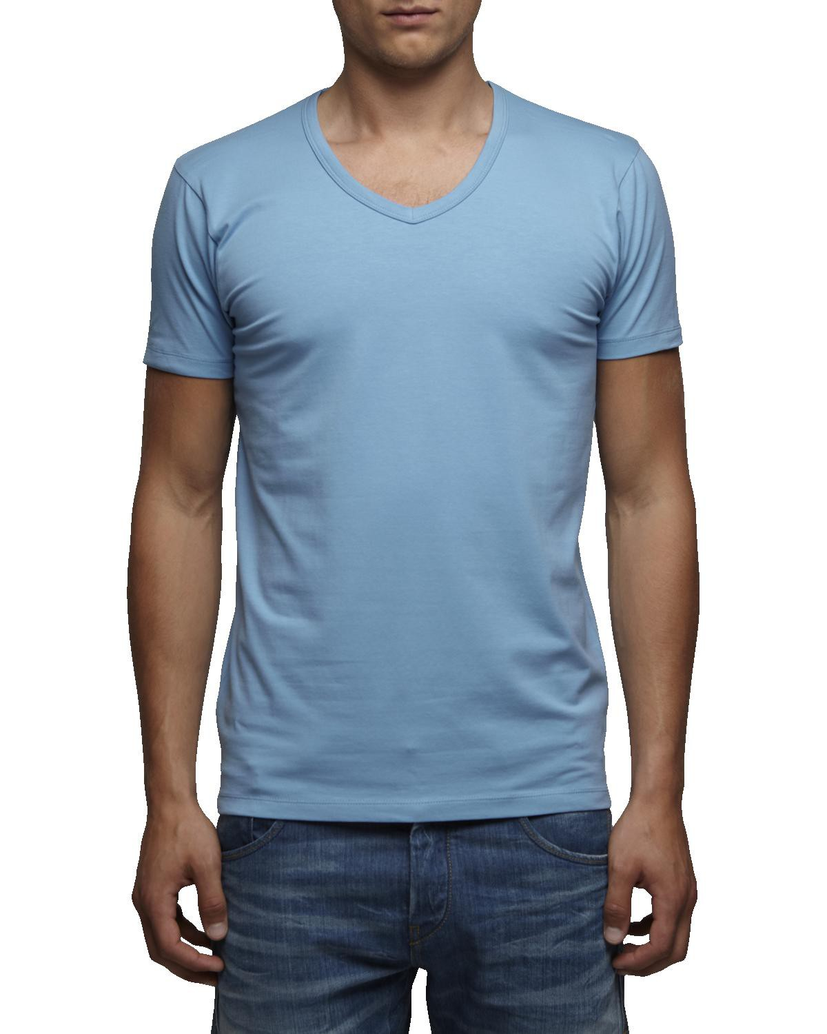 Jack-Jones-T-Shirt-Basic-V-Neck-Slim-Fit-S-XXL-Weiss-Schwarz-Grau-Blau-Gruen