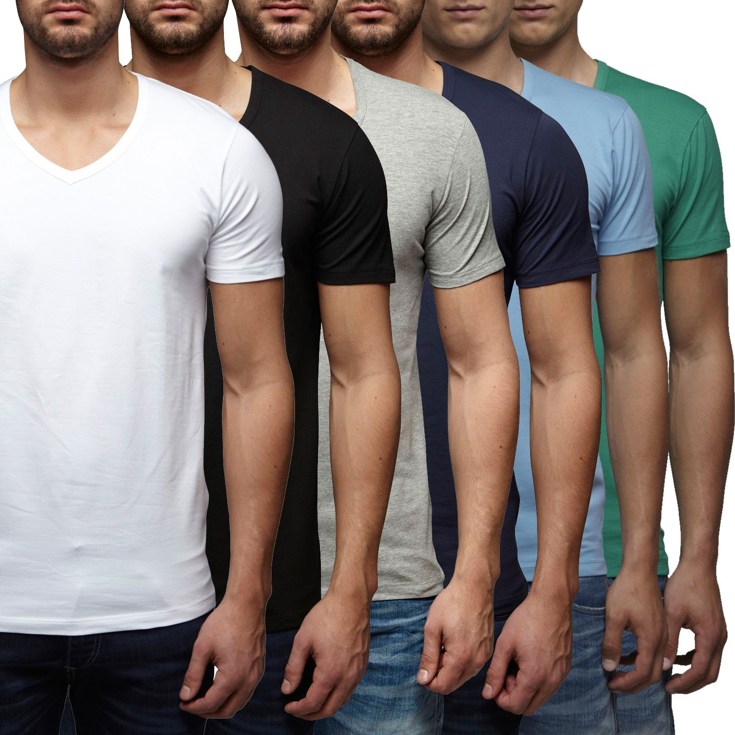 Jack & Jones T-Shirt Basic V-Neck Slim Fit